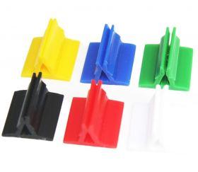 6 Supports de pions ou de cartes, lot de 6