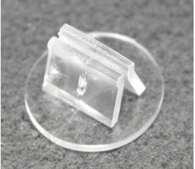 10 supports transparents socle pour pions ou cartes de jeu