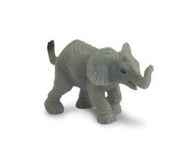 Figurine mini mini éléphant