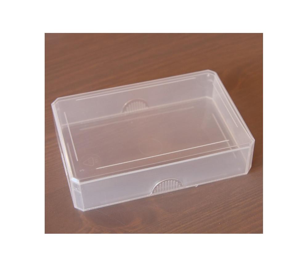 Boite en plastique pour ranger cartes jouer et accessoires - Boite de rangement ikea plastique ...