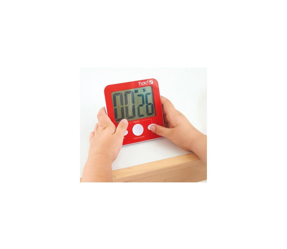 Sablier lectronique pour jeux de soci t minuteur de 5 - Chronometre et minuteur ...