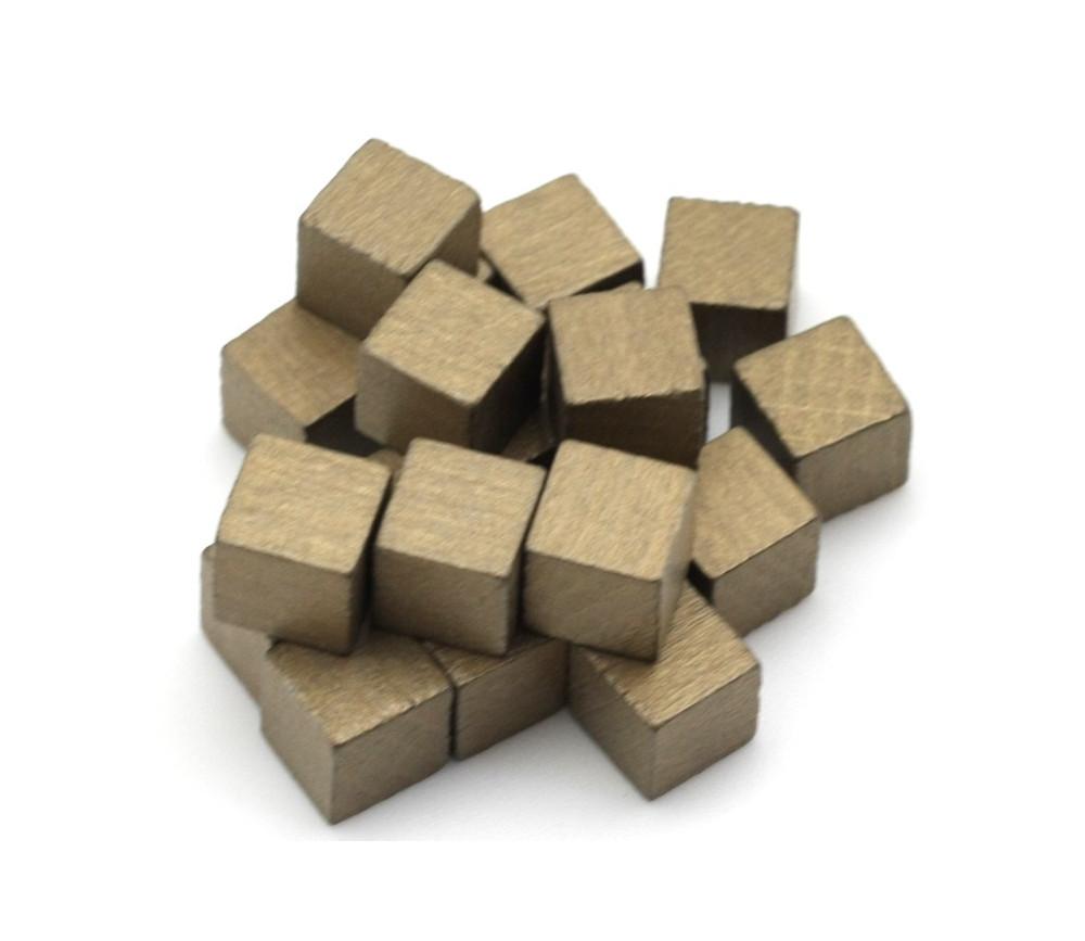 petits cubes en bois de 1 cm de c t lot de 20 color. Black Bedroom Furniture Sets. Home Design Ideas
