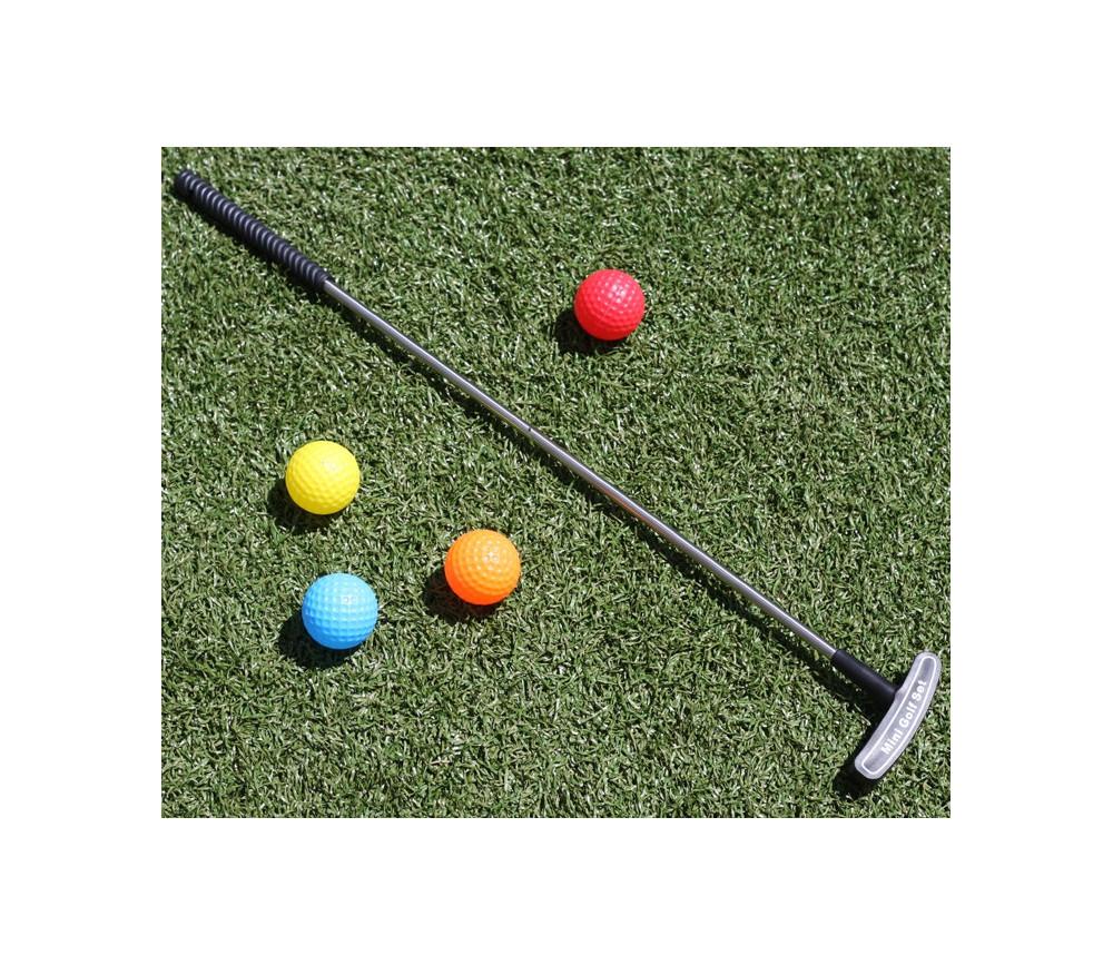 jeu mini golf avec 1 club et 4 balles jouet set enfant. Black Bedroom Furniture Sets. Home Design Ideas