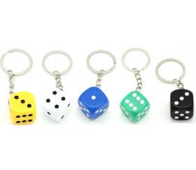 Porte-clés  dé à jouer