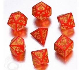 7 dés multifaces Pathfinder Curse of the Crimson Throne