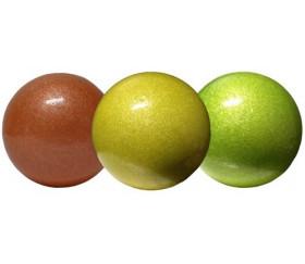 3 Balles de jonglage 55 mm nacrées
