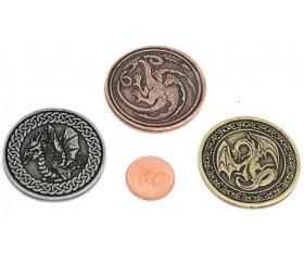 22 Pièces métal Dragon Legendary