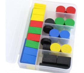 Boite PM 6 compartiments de 16.5 x 11.2 x 3.1 cm en plastique
