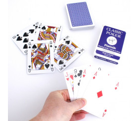 Jeu de 54 cartes à jouer classic poker piatnik