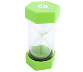 Grand Sablier 1 minute - 16 cm de haut super lisible vert