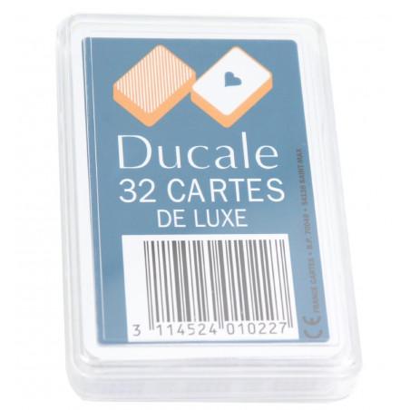 Jeu 32 cartes Ducale coffret plastique