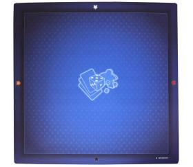 Tapis de jeu 60 x 60 cm universel bleu