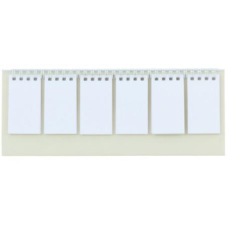 Chevalet fiches blanches à personnaliser