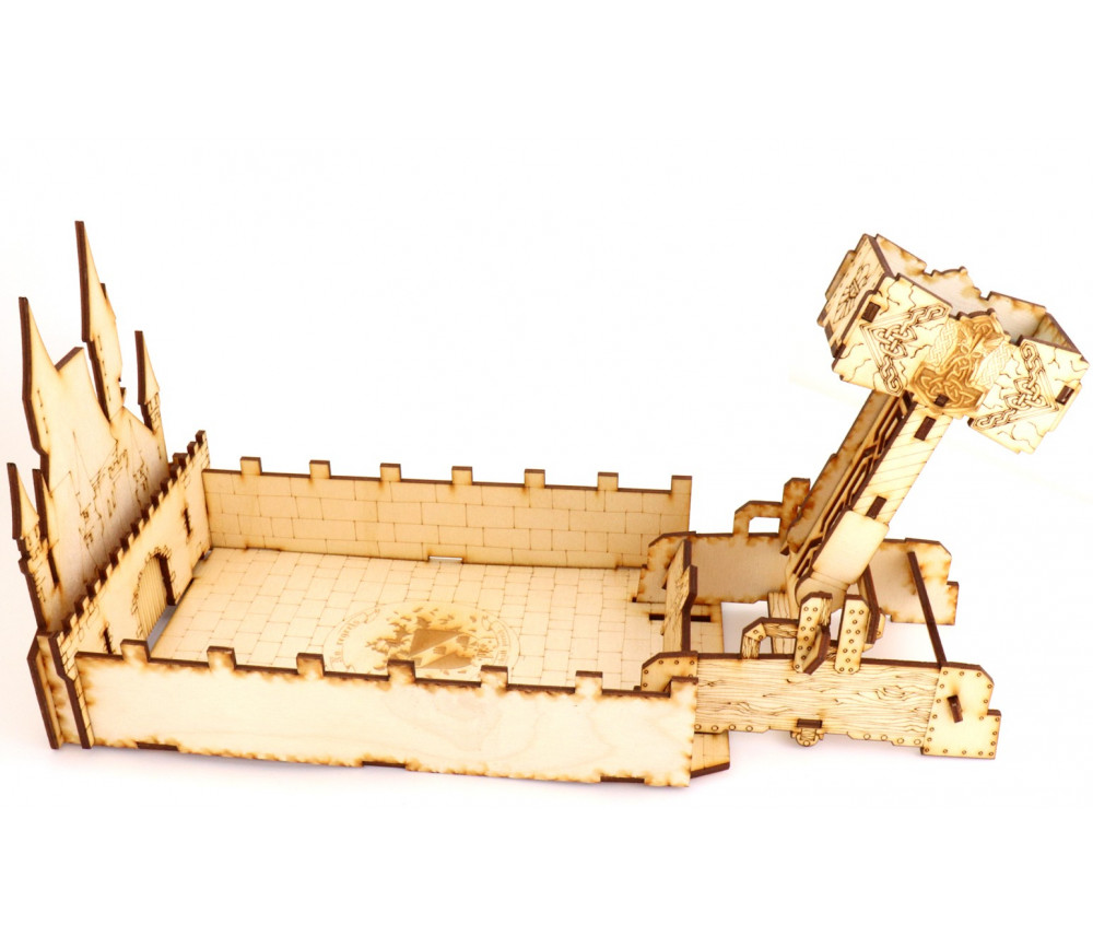 En Bois Animal Design catapulte