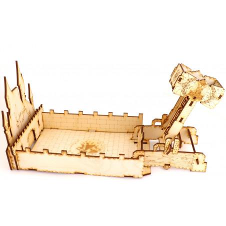 Lanceur de dés - catapulte marteau