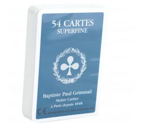 Jeu 54 cartes Grimaud super qualité sans étui sous film seulement