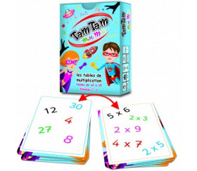 Tamtam Multimax Safari coffret multiplication niveau 1 + 2