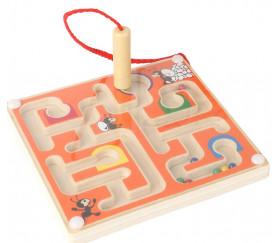 Mini Labyrinthe magnétique 12 cm avec crayon aimant