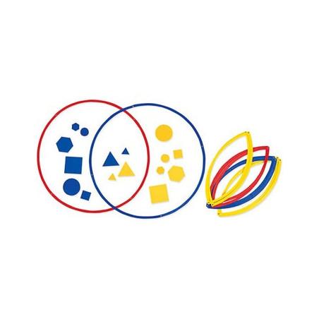 6 cercles 50 cm trieurs groupe / sous-groupe