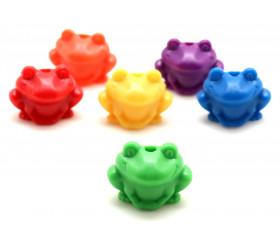 120 perles grenouilles de 20 mm de diamètre
