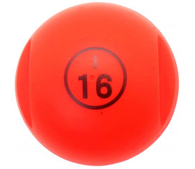 Boule loto rouge rangement avec pions magnétiques