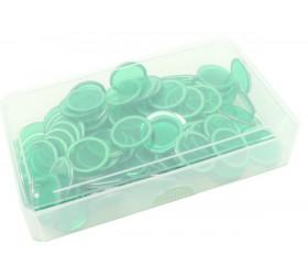 Boite plastique 10.3 x 5.8 x 1.8 mm transparente vide pour cartes à jouer
