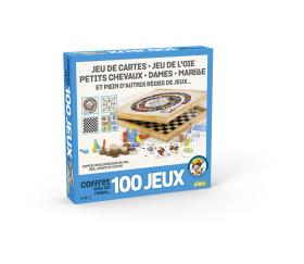 Grand coffret 100 jeux de société en bois junior