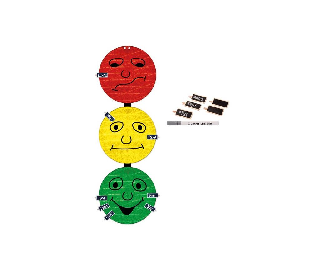 Feu tricolore comportement 94 x 30 cm