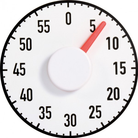 Minuteur décompteur magnétique 1 minute  à 1 heure