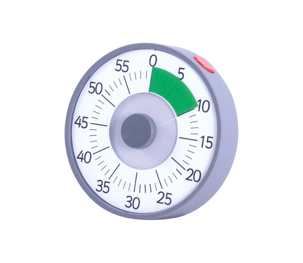 Minuteur décompteur à piles - suivi du temps - 3 systèmes d'alarmes