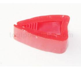 Marqueur clip rouge