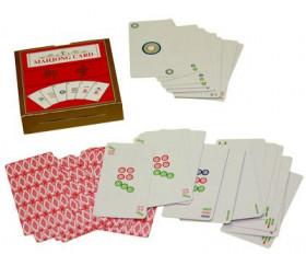 Jeu de cartes de Mahjong