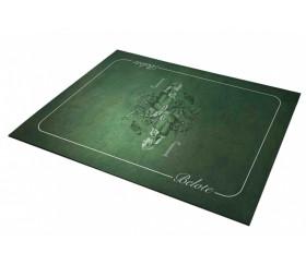 Tapis de cartes Belote VERT 40 x 60 cm