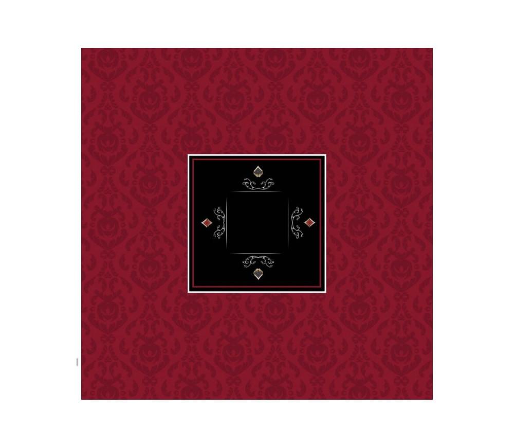 Tapis de jeu Poker 100 x 100 cm carré Victorian
