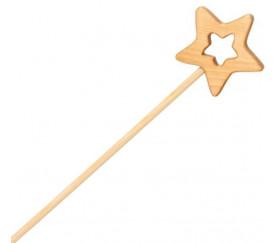 Baguette magique en bois pour jeu