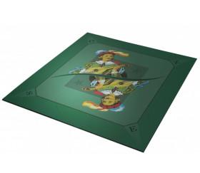 Tapis jeu 60 x 60 cm Tarot Excuse vert