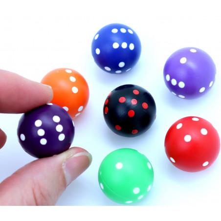 Dé rond de 20 mm de diamètre pour jouer