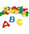 50 grandes lettres en bois magnétiques de 4.5 cm de hauteur