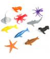 48 Animaux en plastique OCEAN de 5 à 7 cm - jouet pas cher
