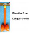 Diabolo  mini jeu d'adresse diamètre 8 cm et bâtons 30 cm