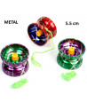 Yoyo  5.5 cm jouet métal