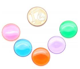 Pion de loto ronds 15 mm de diamètre sachet de 100 jetons
