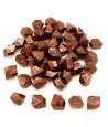 GEM cuivré  : 50 mini gemmes opaques pions imitation pierres précieuses pépites
