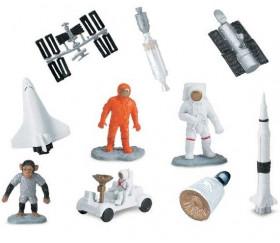 Espace : 10 figurines de jeu voyage dans l'espace