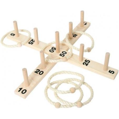 Jeux adresse Cible de lancer avec anneaux