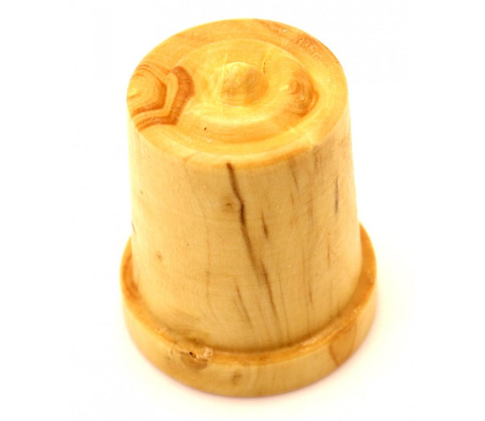 Dé à coudre en buis - mini seau en bois 30 x 24 mm