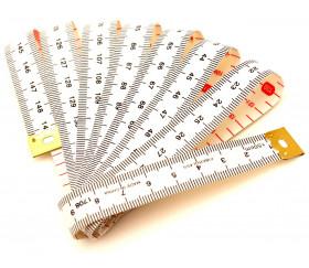 Ruban mètre 150 cm pour mesure