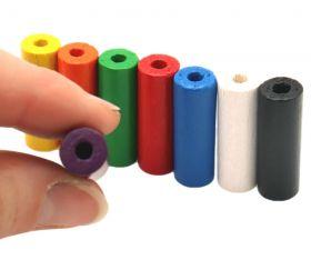 Cylindre 10x30 mm pion de jeu