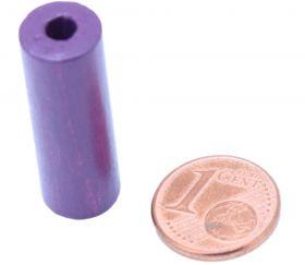 Cylindre violet 10x30 mm pion de jeu