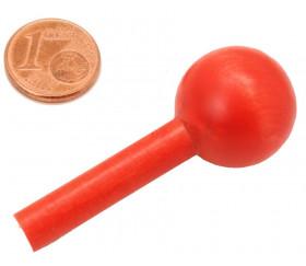 Pion encastrable boule 2 cm et tige 5 cm